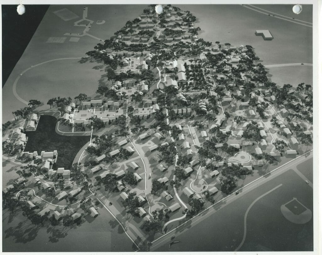 Early NMC architectural model II