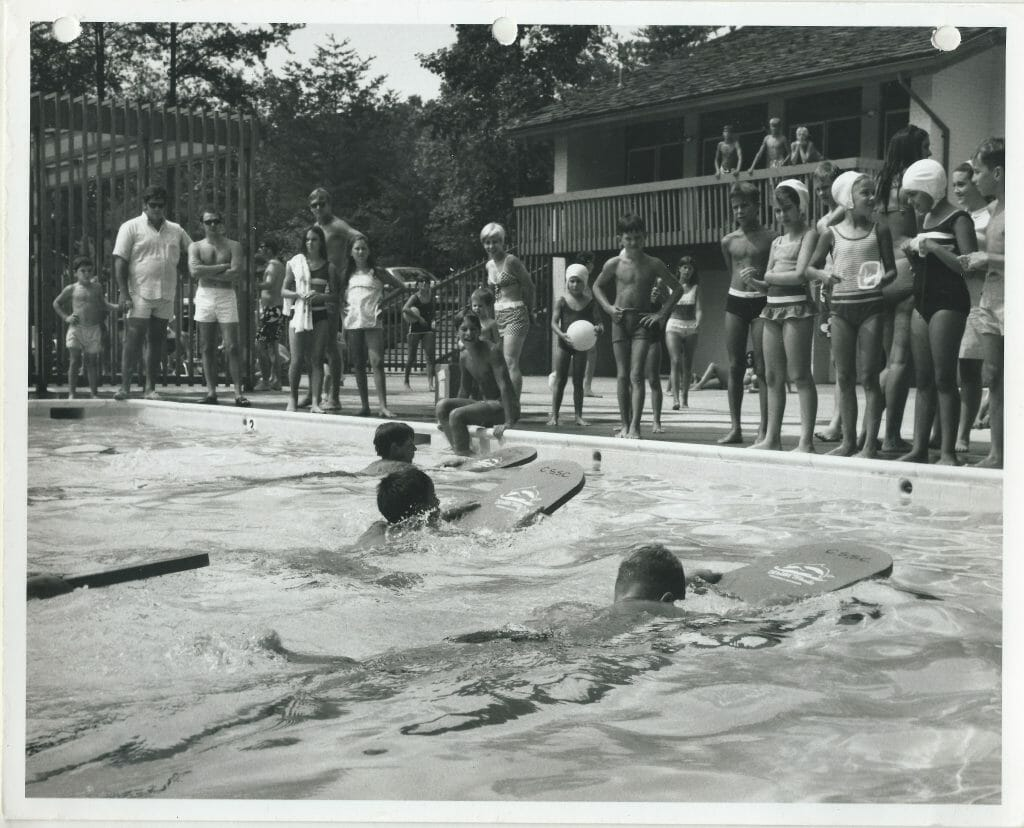 """Swimmers from """"back then"""""""