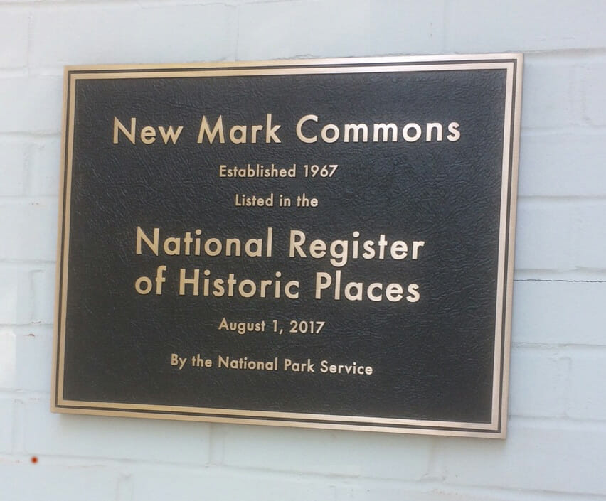 National Regsiter of Historic Place Plaque